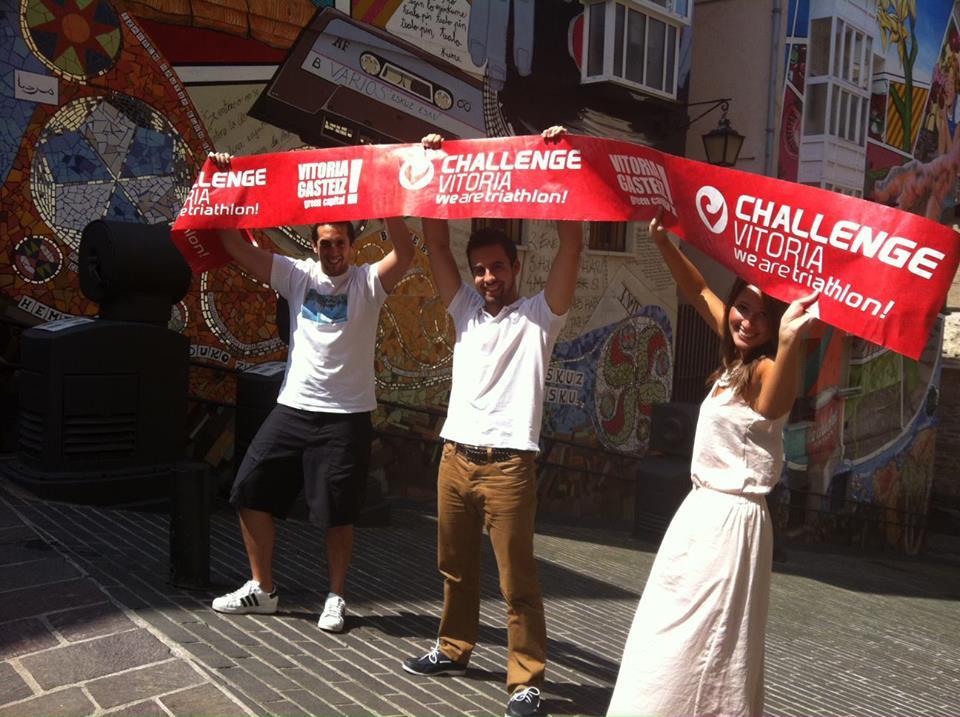 TERMIADEEP con el Triathlon Challenge Vitoria
