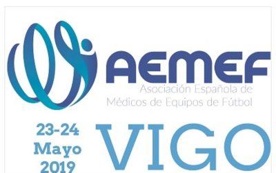 TERMIADEEP en el  XXIII Curso AEMEF (Asociación Española de médicos de equipos de fútbol)
